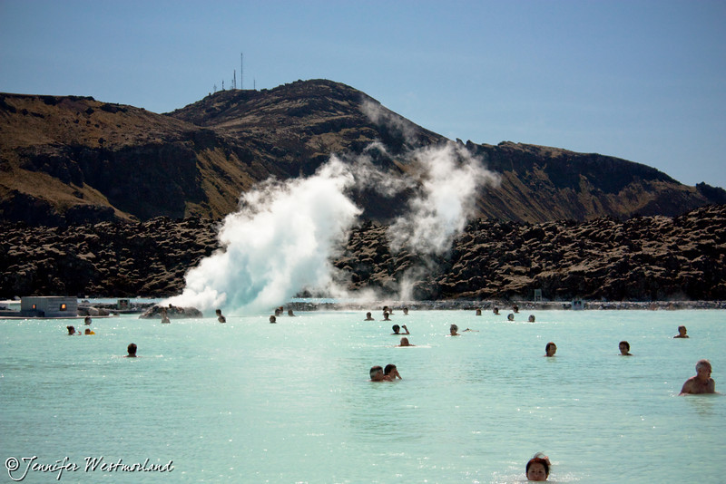 The blue lagoon Iceland geothermal spa