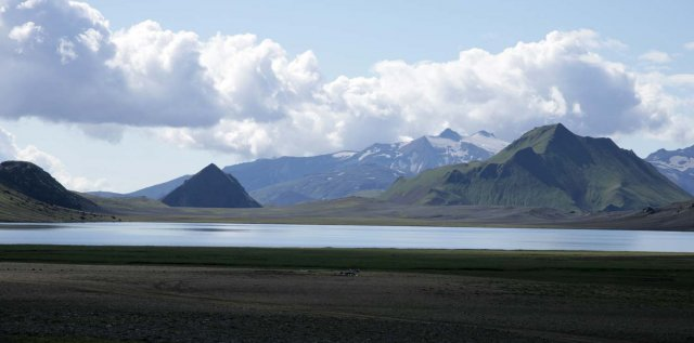 Le lac d'lftavatn