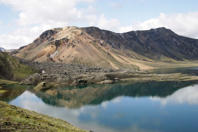 Le lac de Frostastaavatn