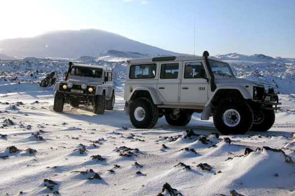 Rent a super jeep in Iceland - Super jeep rental